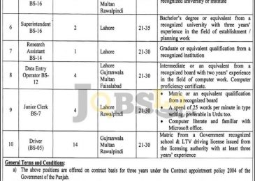 Punjab Food Authority Jobs 2017 For BPS-18 To BPS-05 NTS Online Form & Test Date