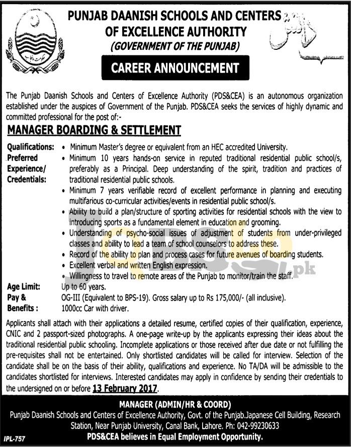Daanish School Jobs