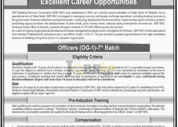 State Bank of Pakistan Jobs 2017 Online Application Form Download Latest
