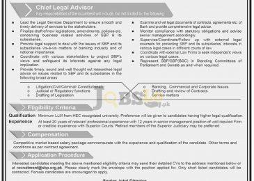 SBP Bank Jobs 2017 in Karachi Online Apply Career Opportunities