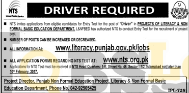L&NFBE Dpt Punjab Jobs