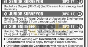 Gwadar Development Authority Jobs