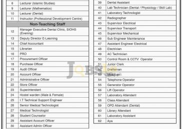 JSMU Karachi Jobs 2017 Current Employment Opportunities Advertisement
