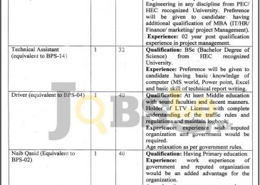 Directorate of Science & Technology Peshawar Jobs 2017 For Project Manager