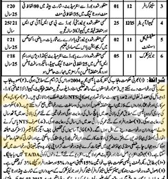 Health Department Mandi Bahauddin Jobs 2017 for BPS-17 To BPS-11