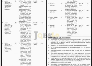 Health Department Nankana Sahib Jobs 2017 Current Employment Offers