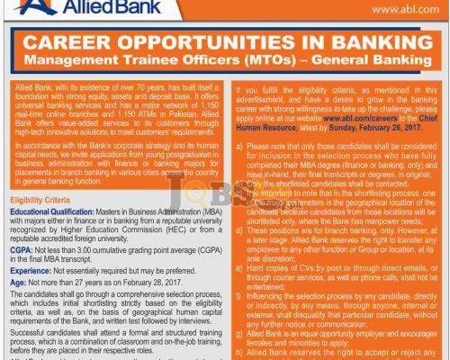 ABL MTO Jobs