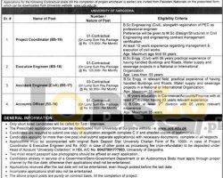UOS Jobs in University Sargodha 2018 Form Download uos.edu.pk