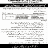 Cantonment Board Bannu Jobs 2018 Public Girls High School & College