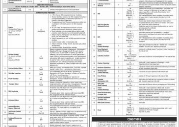 Jobs in Quaid e Azam University Islamabad Sep 2018 Application Form Latest