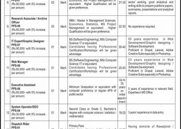 CPEC Jobs 2018 in Pakistan September Advertisement