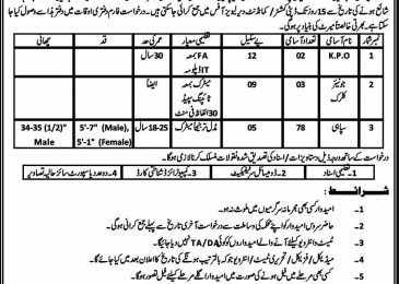 Dir Levies Force Jobs 2018 Application Form Latest For KPO/Junior Clerk