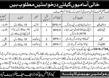 PAK Army Jobs 2018 FF Regiment Centre Abbottabad Latest