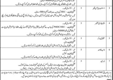 Sindh Healthcare Commission Jobs 2018 SHCC Application Form Download Last Date