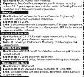 Bahria Foundation Jobs 2018 in Pakistan Navy Latest Career Opportunities
