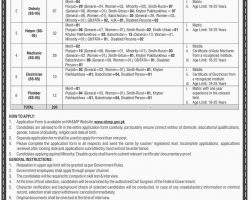 Jobs in Motorway Police Dec  2018 NHMP Application Form Download