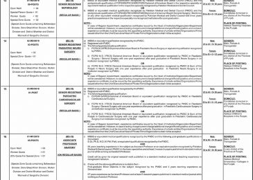 PPSC Jobs 2019 Punjab Special Education Department Apply Online