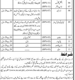District & Session Judge Karachi Jobs 2019 sts Application Form Latest