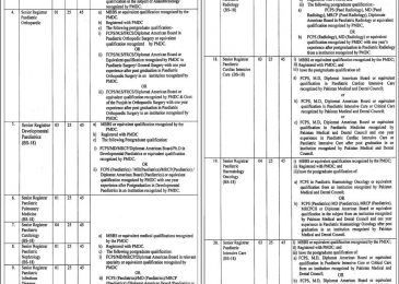 Children's Hospital Lahore Jobs 2019 Application Form Latest