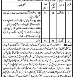 Jobs in Irrigation Department Govt of The Punjab Feb 2019 Lahore Latest