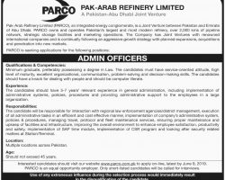 PARCO Pakistan Jobs June 2019 Apply Online Last Date Advertisement