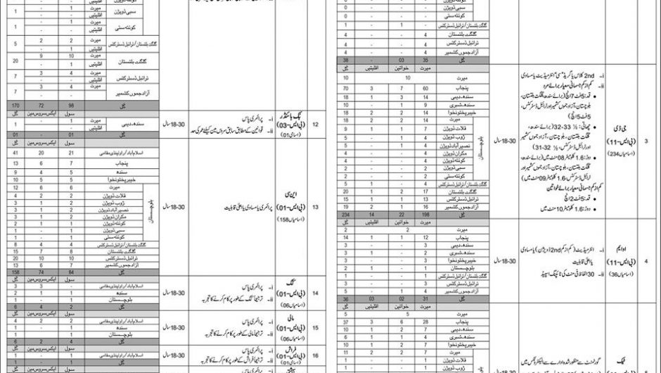 Federal Government Organization Jobs 2019 NTS Application Form Download Latest