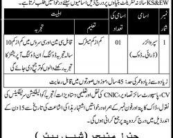 Karachi Shipyard & Engineering Works KSEW Jobs 2019 Latest Advertisement