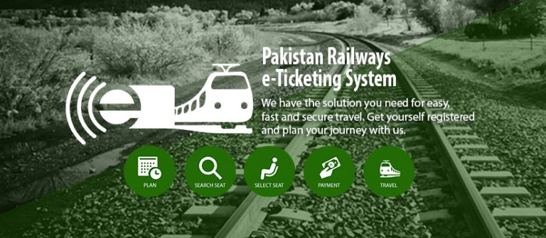 Pakistan Railway E-Ticket, Seat Price, Home Delivery, Information